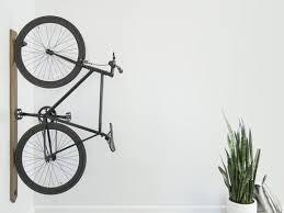 rack walnut bike rack wall