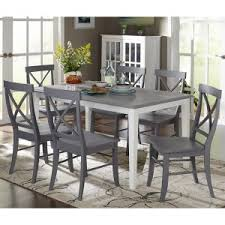 Gray kitchen table Tall Target Marketing Systems Helena Piece Dining Table Set Hayneedle Gray Kitchen Dining Table Sets Hayneedle