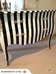 stripes furniture redo inspiration bedroom dresser needs updated like this black and white striped outdoor cushions