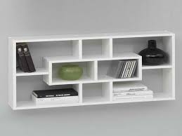 white wall mounted shelves