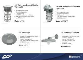 Designers Edge Farm Light Product Detail Manual