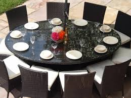 round outdoor dining table for 10 teakpatiofurnishings