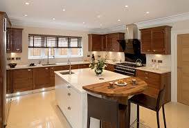 Faux Wood Blinds Contemporary Kitchen Brown White Modern Simple Designer Kitchen Blinds Model