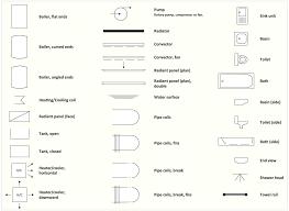 floor plan symbols bathroom. Simple Plan Interior Design Software Elements U2014 Plumbing In Floor Plan Symbols Bathroom O