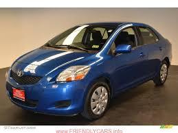 awesome toyota yaris 2013 sedan blue car images hd 2010 Blue ...