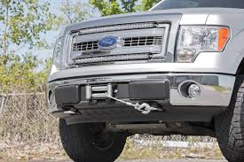 Hidden Winch Mounting Plate for 09-14 Ford F-150 Pickup [1010 ...