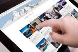 Social Hub Social Hub Social Community Building With Visual Hashtag Wall