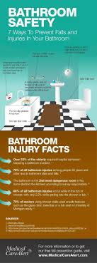 bathroom safety for seniors. Remove Scatter Rugs. Increase Lighting, Including Automatic LED Lights. See Our Info-graphic For More Ideas: Bathroom Safety Seniors O