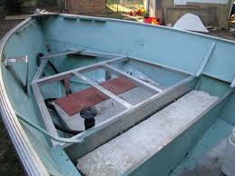 jon boat deck ideas photos