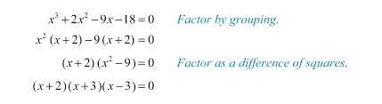 How To Factor A Cubic Cubic Equation Solver With Steps Math Solving Equations By Factoring