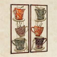 coffee anyone metal wall art panel set on coffee kitchen metal wall art with coffee kitchen home accents touch of class