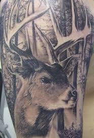 Forest Deer Tattoo Image 2 Tattoos Book 65000 Tattoos Designs