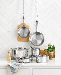 20 off all clad stainless steel 10 pc cookware set