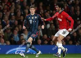 Toni Kroos Bayern Munich Marouane Fellaini Manchester Editorial Stock Photo  - Stock Image