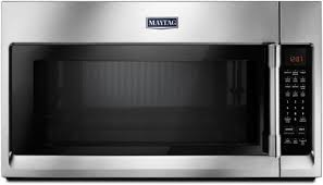 maytag mmv5220fz stainless steel front view