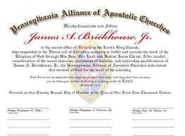 blank ordination certificates ordination certificates for your church