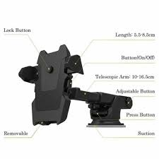 <b>360</b>° <b>Car Windshield</b> Mount Holder Stand For Mobile Cell Phone ...