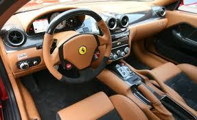 ferrari 599 interior tan and black brown | Auto Addiction ...
