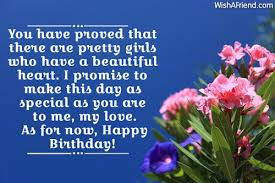 Birthday Quotes For A Beautiful Girl Best of Birthday Wishes For Girlfriend