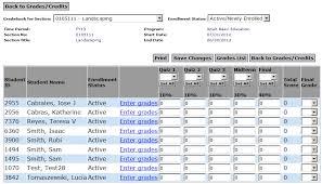 Teacher Gradebook Online Teacher Gradebook Online Under Fontanacountryinn Com