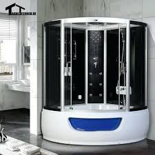 homeward bath steam planet universe plus corner shower center drain units