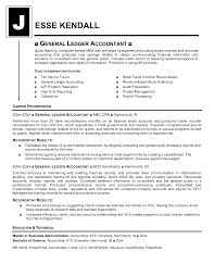 General Accountant Resume Examples Example Format For Operation