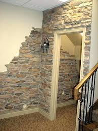 river rock manufactured stone for walls