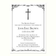 Memorial Announcement Cards Memorial Announcement Wording Wording For Death Announcement Death