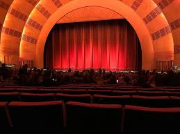 Radio City Music Hall Section Orchestra 3 Row L Seat 303