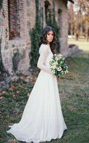modest style wedding dress cheap affordable conservative bridals