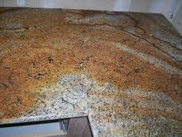 golden river granite countertop seams