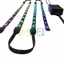 dream color rgb led lighting kit for gaming pc computer case sk6812 ws2812b magnets built