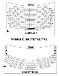 Lyric Seating Charts