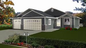 amazing bungalow house plans with attached garage