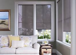 Budget Blinds Contemporary Roller Shades