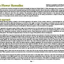 Bach Flower Remedies Chart Bach Flower Remedies For Empaths 34wmppqqpjl7