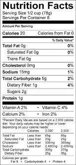 Spaghetti Squash Nutritional Values Recipe Nutrition Labels Food Hero