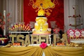 Belle Birthday Decorations Belle Beauty and the Beast Birthday Party Ideas Dessert table 32