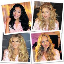 we love the victoria s secret fashion show while the outfits are not neccessarily something to recreate off the runway the hair cernly is