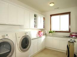 Organized and Elegant. Galley-style laundry rooms ...