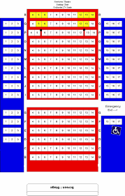 The Palestra Seating Chart Newtown Theatre Seating Chart