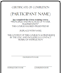 templates for certificates of completion 5 certificate of completion templates certificate templates