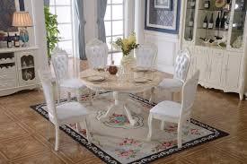 Barock Antik Stil Esszimmer Set Rund Runder Tisch