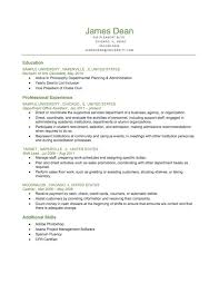 Resume Format Guide Classy Resume Format Guide