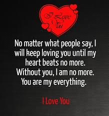 I Love U Quotes For Him Best 48 I Love U Quotes For Him I Will Keep Loving You Until My Heart