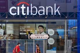 citigroup stock is trading slightly