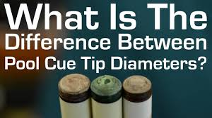 Tip Hardness Chart Whats The Difference Between Pool Cue Tip Diameters