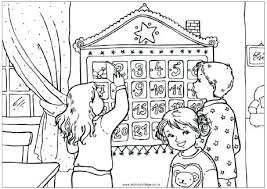 Advent Colouring Pages Advent Calendar Colouring Page Calendar
