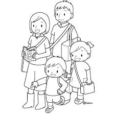 Coloring Pages Of A Family Images About Primary Coloring Pages On