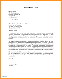 9 Cover Letter Examples For Accounting Cover Letter